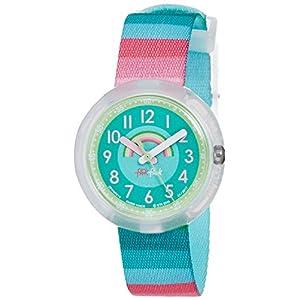 [フリック フラック]FLIK FLAK キッズ腕時計 STRIPY DREAMS ZFPNP014 ガールズ 【正規輸入品】