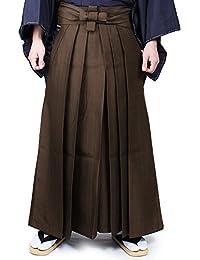 (オオキニ) 大喜賑 袴 メンズ 剣道 男性用 無地 馬乗り袴 卒業式 成人式 正装 弓道 着物