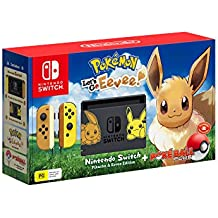 Nintendo Switch Console Pokemon Lets Go Eevee Edition
