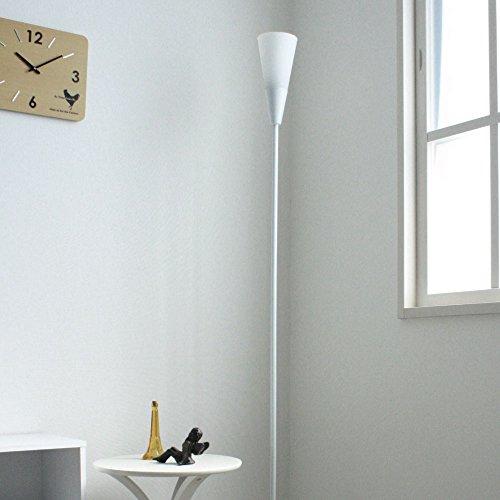 RoomClip商品情報 - アッパーライト フロアスタンド フロアライト YFL-992 ガラスシェード (WH【ホワイト】)