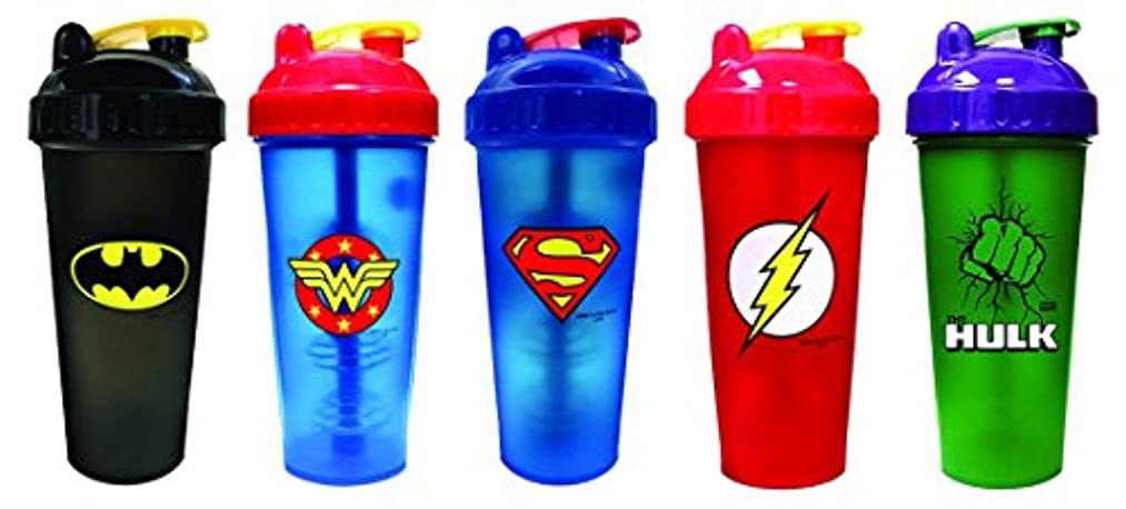 クリスマス相対的ラバPerfectShaker Hero Series League (800ml) 5 Bottles by Perfect Impressions