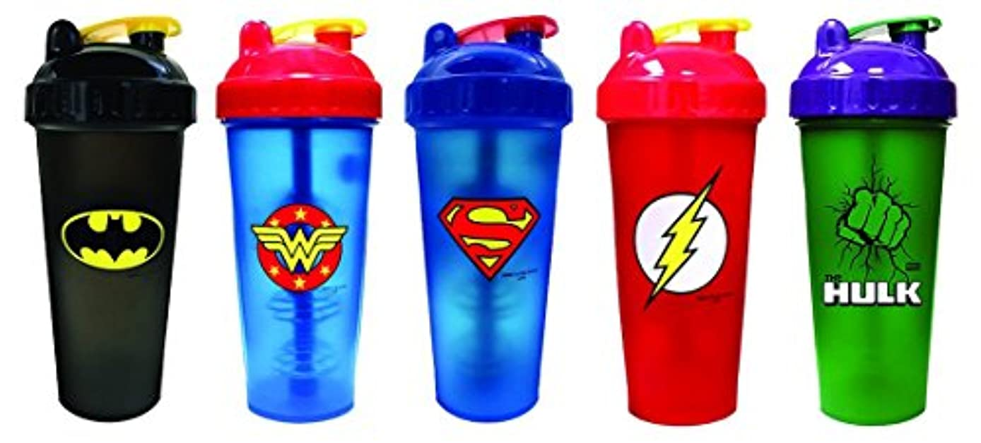 くびれた毒性編集者PerfectShaker Hero Series League (800ml) 5 Bottles by Perfect Impressions