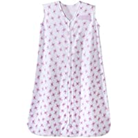 Halo Sleep Sack - Butterfly Toss Prints - Small - Birth to 6 Months by HALO SleepSack