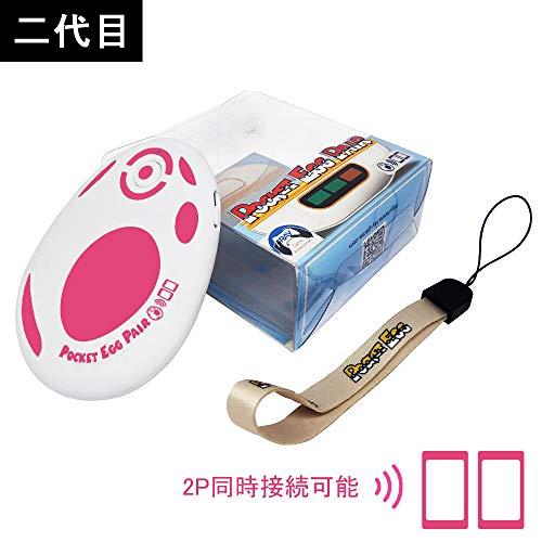 【二代目】pocket egg ポケモンオートキャッチ 二つのID同時に接続可能 日本語説明書付き (赤)