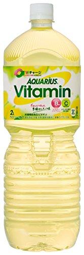 [2CS] コカ・コーラ アクエリアス ビタミン  (2.0L×6本)×2箱