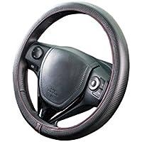 ボンフォーム ハンドルカバー ネオフィットカーボン ブラック/レッド S:36.5~37.9cm リングレスタイプ 軽・普通車用 6704-15BKR