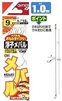 オーナー針 浮子メバル2本 鈎9/ハリス1 M-678