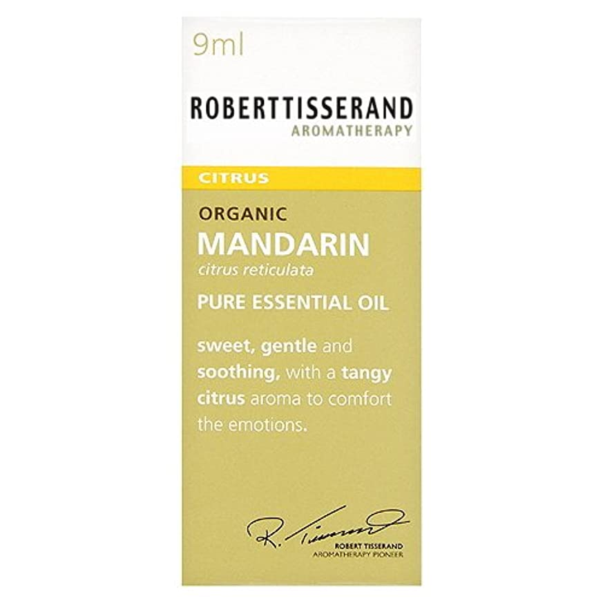 ロバートティスランド 英国土壌協会認証 オーガニック マンダリン 9ml