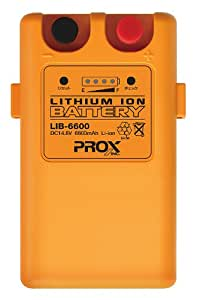 プロックス(PROX) リチウムイオンバッテリー6600mA LIB6600