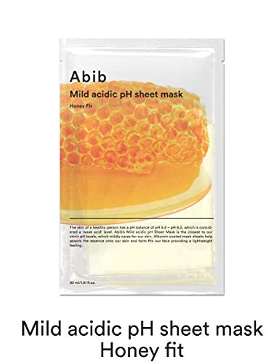 変な奪う隣接する[Abib] アビブ弱酸性pHシートマスクハニーフィット 30mlx10枚 / ABIB MILD ACIDIC pH SHEET MASK HONEY FIT 30mlx10EA [並行輸入品]