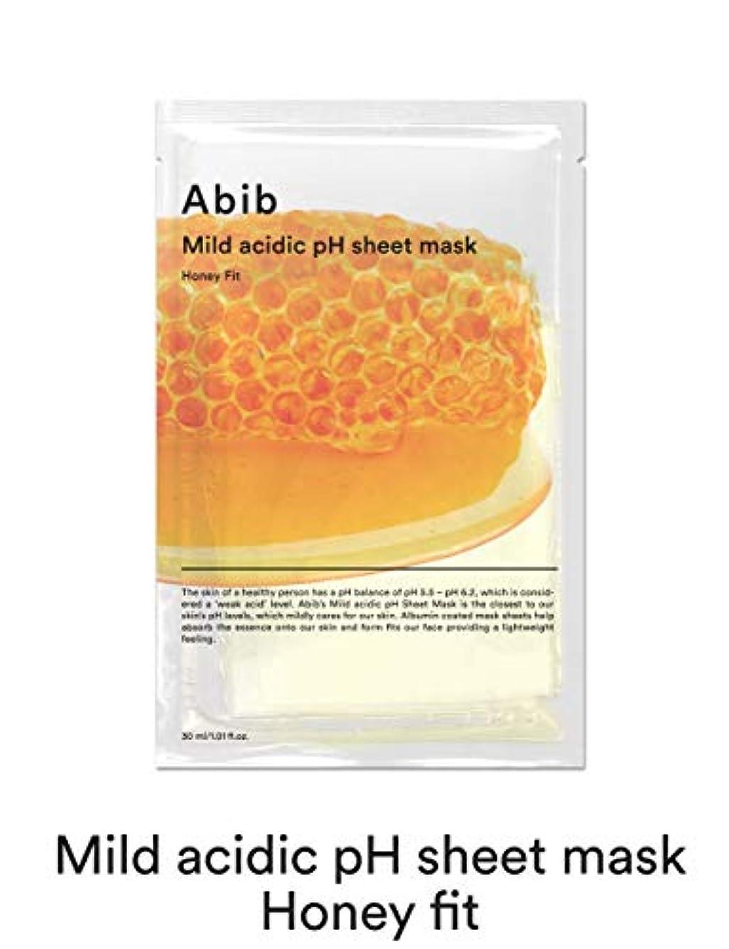 サスティーン脚本家家具[Abib] アビブ弱酸性pHシートマスクハニーフィット 30mlx10枚 / ABIB MILD ACIDIC pH SHEET MASK HONEY FIT 30mlx10EA [並行輸入品]