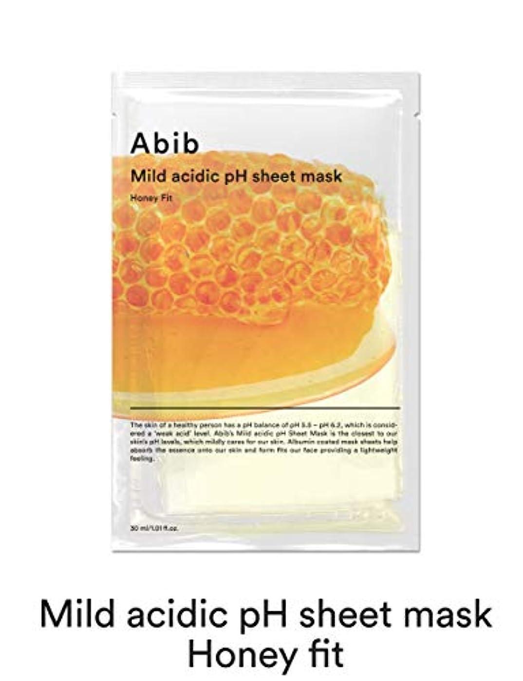 発掘行定説[Abib] アビブ弱酸性pHシートマスクハニーフィット 30mlx10枚 / ABIB MILD ACIDIC pH SHEET MASK HONEY FIT 30mlx10EA [並行輸入品]