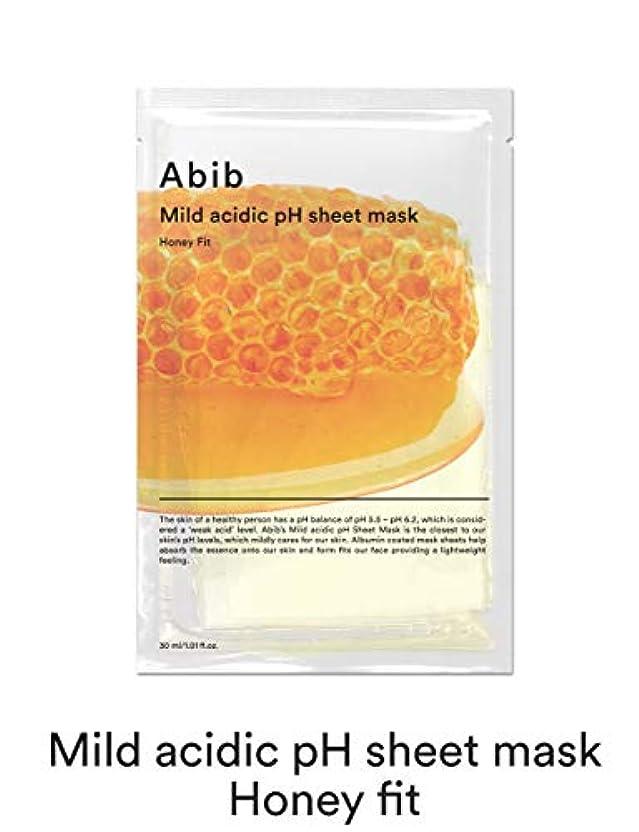 スキム気楽な手順[Abib] アビブ弱酸性pHシートマスクハニーフィット 30mlx10枚 / ABIB MILD ACIDIC pH SHEET MASK HONEY FIT 30mlx10EA [並行輸入品]