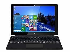 【10.1 インチ大画面2in1ノートパソコン タブレット】Dragon Touch I10X 10.1 インチ タブレットパソコン 64GB IPS液晶 取外可能な日本語キーボード付き Win10 システム対応 ノートブック タップレット2in1【1年保証】