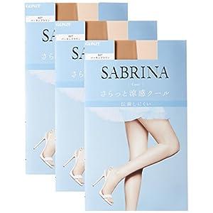 [グンゼ] SABRINA Cool (サブリナ クール) ストッキング〈同色3足組〉 レディース SB470
