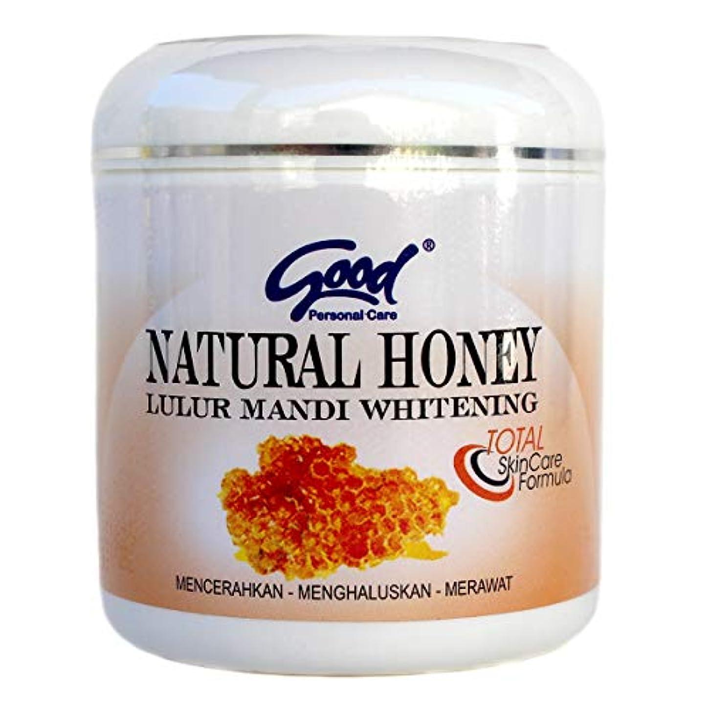想像する動脈接地good グッド インドネシアバリ島の伝統的なボディスクラブ Lulur Mandi マンディルルール 200g Natural Honey ナチュラルハニー [海外直送品]