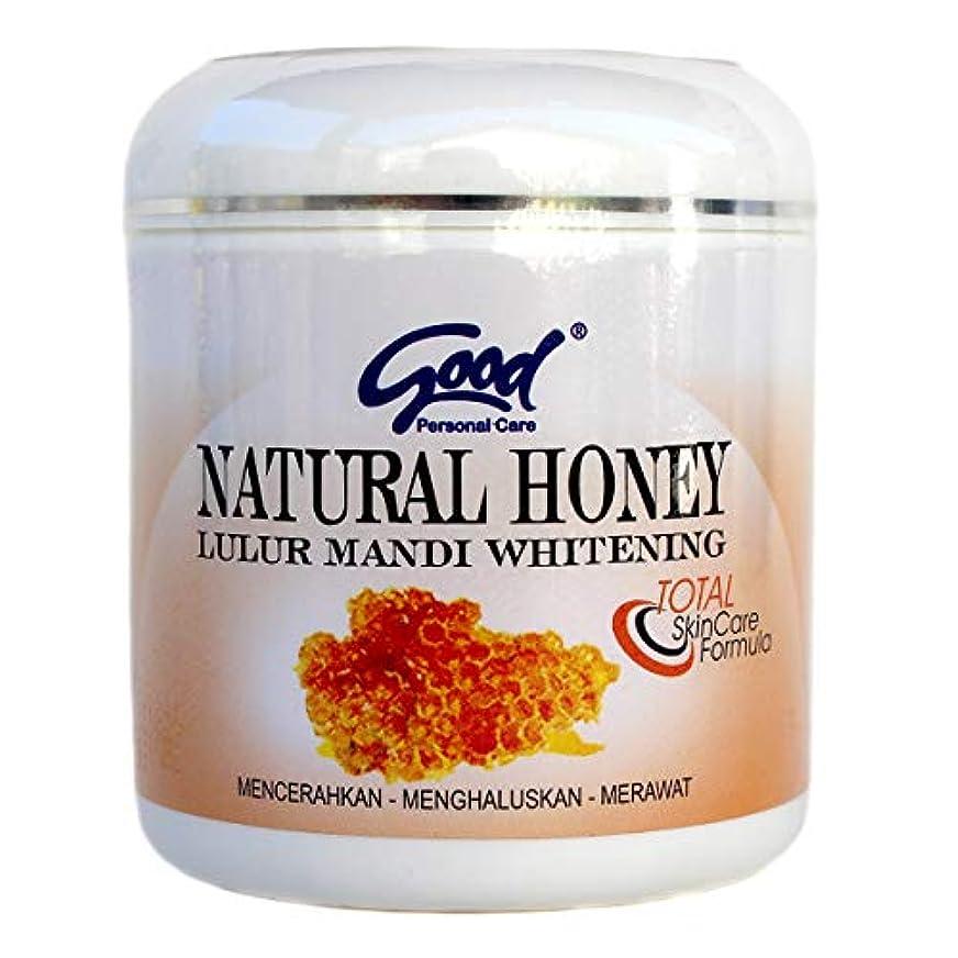 首尾一貫したハシー農夫good グッド インドネシアバリ島の伝統的なボディスクラブ Lulur Mandi マンディルルール 200g Natural Honey ナチュラルハニー [海外直送品]