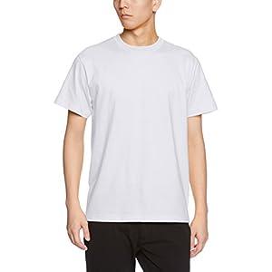 (ユナイテッドアスレ) UnitedAthle 5.6オンス ハイクオリティー Tシャツ 500101 001 ホワイト S
