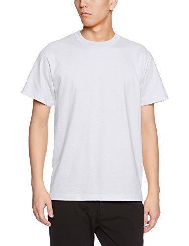 (ユナイテッドアスレ) UnitedAthle 5.6オンス ハイクオリティー Tシャツ 500101 001 ホワイト XXXL