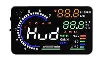 HUDネオトーキョー OBD-08 ヘッドアップディスプレイ 速度計 タコメーター 水温計 電圧表示 日本語説明書付 [対応車種:平成22年9月以降発売、ハイブリッド車対応]