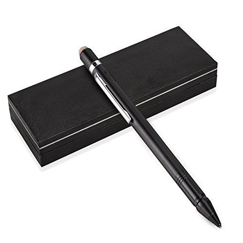 Qosea タッチペン 改善版 極細1.5mmペン先 USB充電式 タブレット スマートフォン全てのタッチスクリーンに...