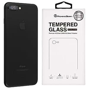 Highend berry iPhone7 Plus iPhone8 Plus カメラ 保護 ガラス アイフォン7 プラス アイフォン8 プラス 日本製 強化 ガラス フィルム 硬度9H (3枚セット)