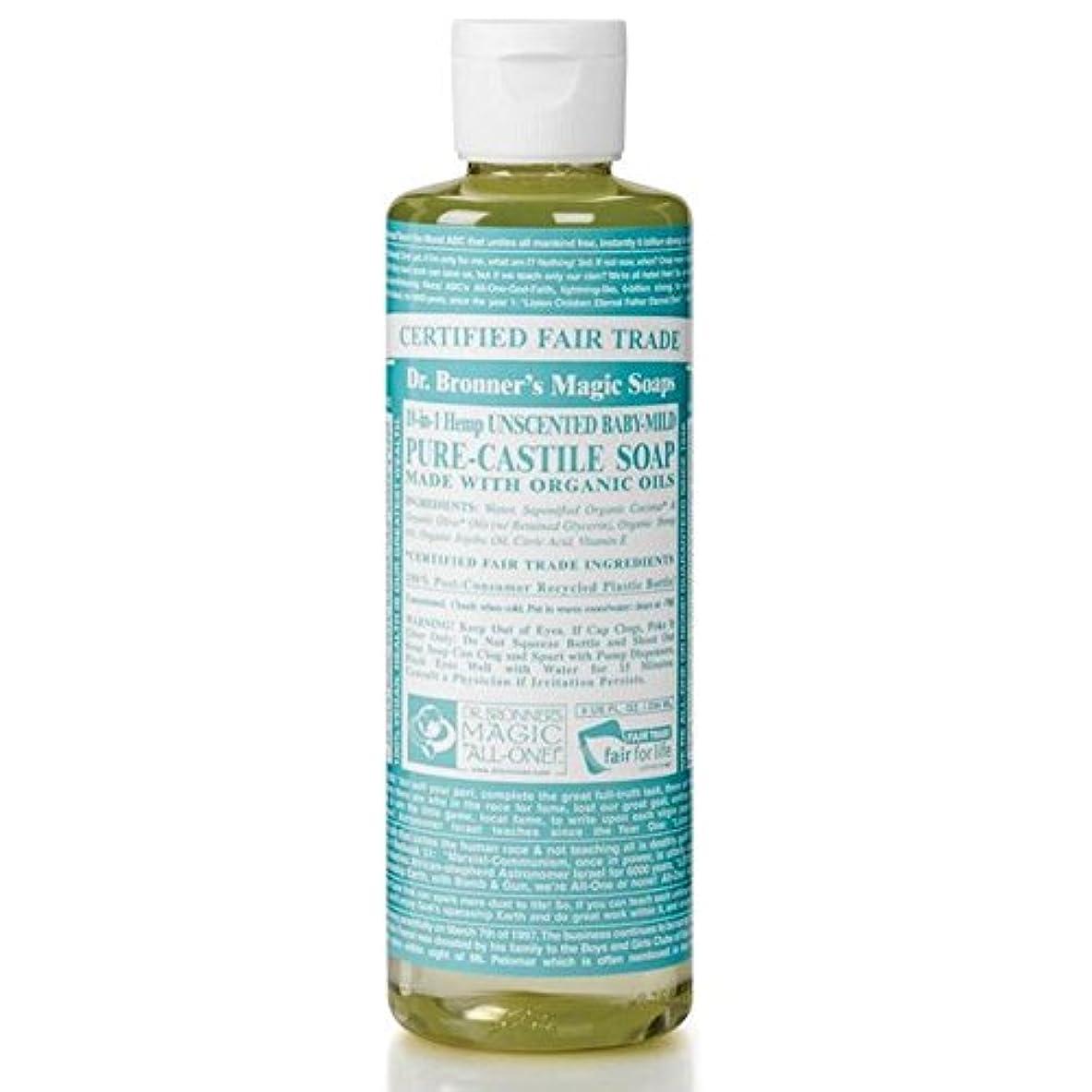 相続人もろいみすぼらしいDr Bronner Organic Baby Mild Cast Liquid Soap 237ml (Pack of 6) - のブロナーオーガニックベビーマイルドなキャスト液体石鹸237ミリリットル x6 [並行輸入品]