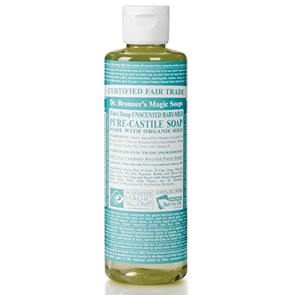 ガチョウクスコ作家Dr Bronner Organic Baby Mild Cast Liquid Soap 237ml - のブロナーオーガニックベビーマイルドなキャスト液体石鹸237ミリリットル [並行輸入品]