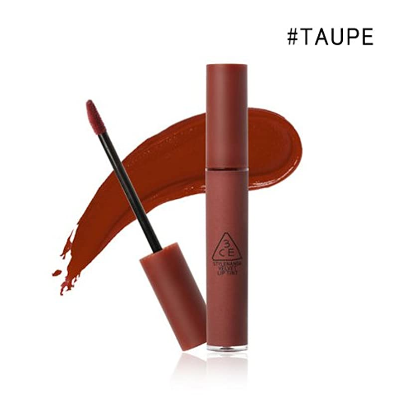 汚染された寛解ドキドキ3CE VELVET LIP TINT / ベルベット リップティント (4.0g) (#TAUPE)