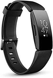 Fitbit FB413BKBK Inspire HR Fitness Tracker with Heart Rate Tracking, Black