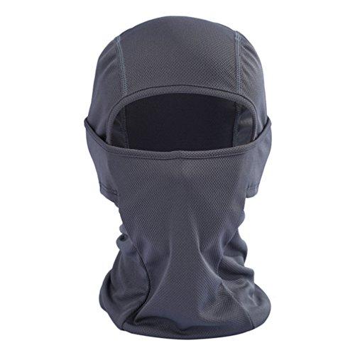 JIOLK タクティカル フェイスマスク 目出し帽 バイカー...