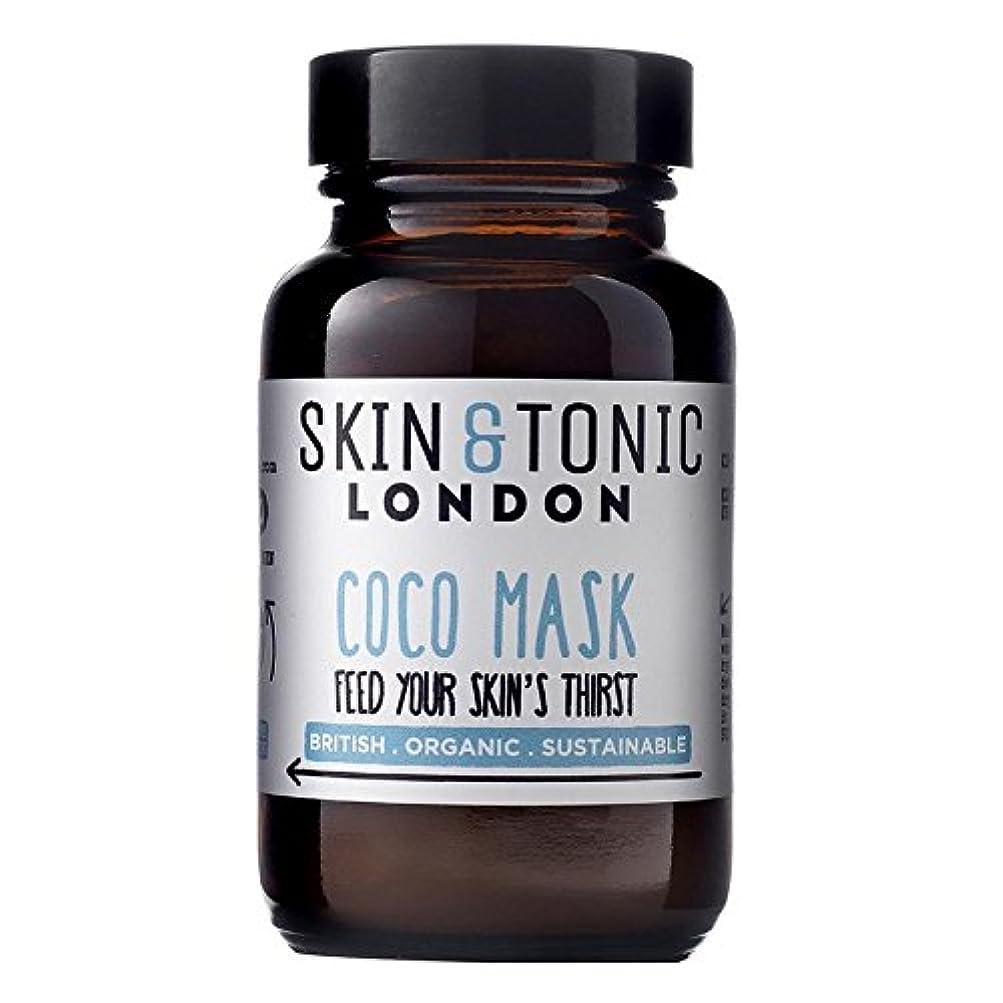 ほのかワードローブランダムスキン&トニックロンドンココマスク50グラム x2 - Skin & Tonic London Coco Mask 50g (Pack of 2) [並行輸入品]
