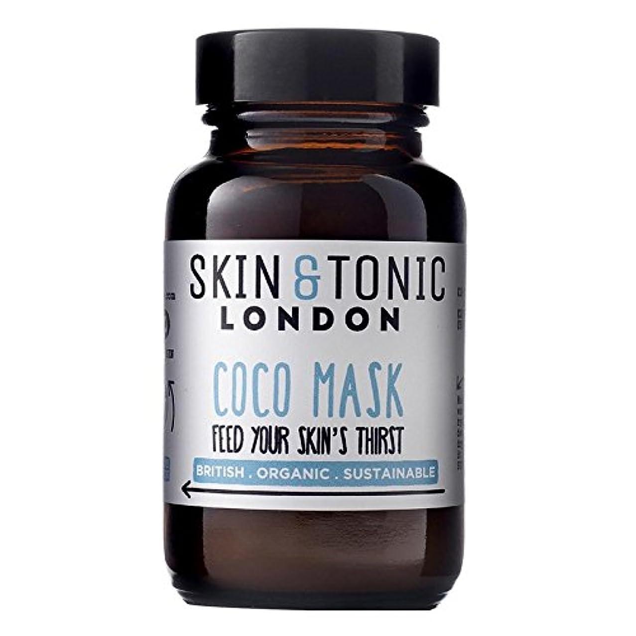 地質学意気揚々最小スキン&トニックロンドンココマスク50グラム x2 - Skin & Tonic London Coco Mask 50g (Pack of 2) [並行輸入品]