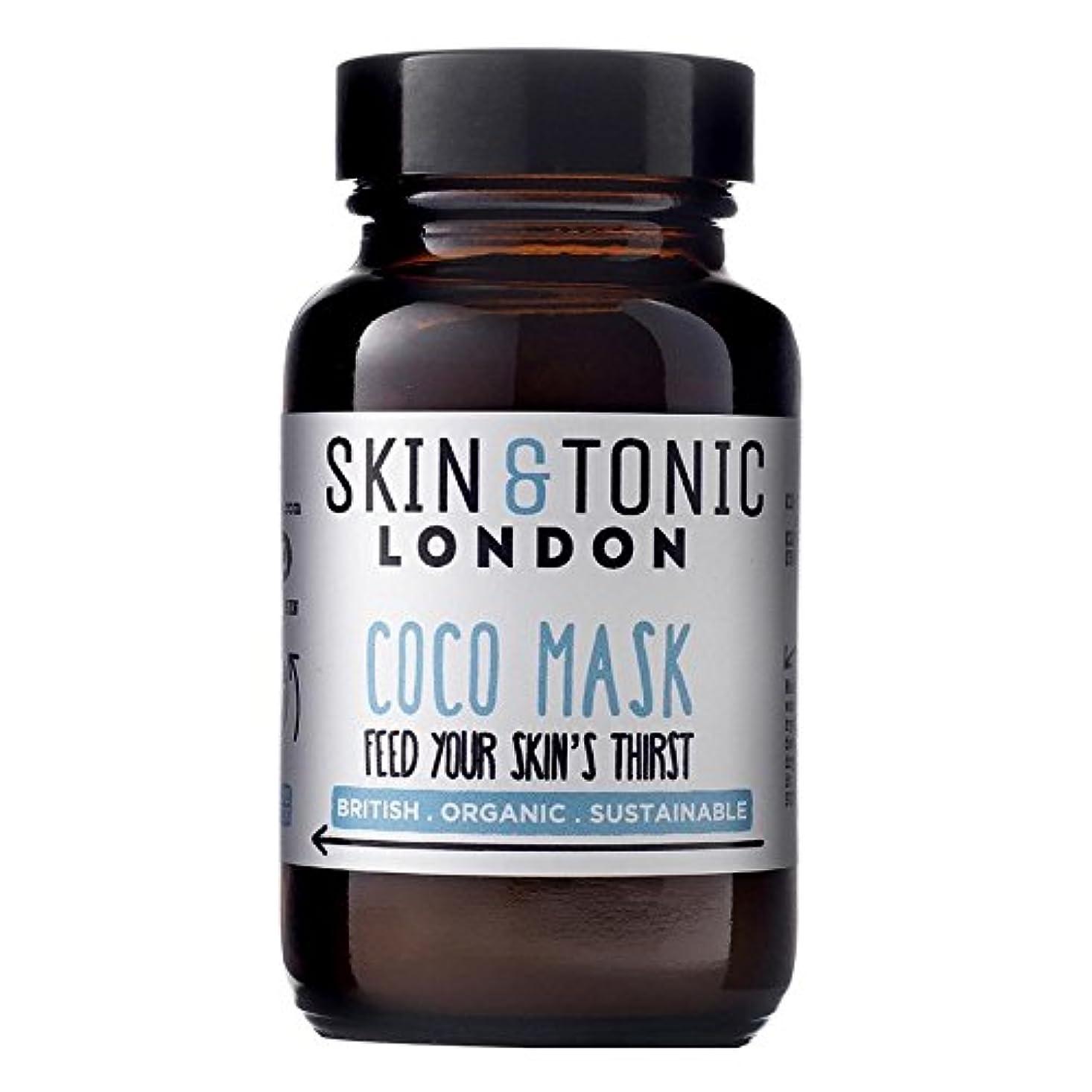 神社謝罪スキニースキン&トニックロンドンココマスク50グラム x4 - Skin & Tonic London Coco Mask 50g (Pack of 4) [並行輸入品]