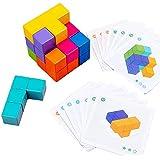 Ms.0 ソーマキューブ 立体 パズル 知育玩具 モンテッソーリ教具 積み木 図形 トレーニング 脳トレ 大人のパズル