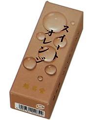 鳩居堂のお香 果実の香り スイートオレンジ 20本入 6cm