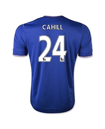 Adidas Cahill #24 Chelsea Home Soccer Jersey 2015(Authentic name and number of player)/サッカーユニフォーム チェルシーFC ホーム用 ケーヒル 背番号24 2015 (