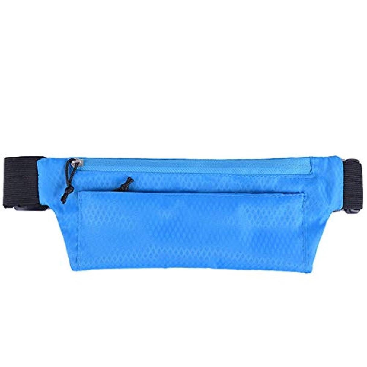 かすかな増幅器衝突CUHAWUDBA アウトドアスポーツウエストパックポケット超薄型防水パックベルトバッグ電話ポーチファニーバッグ 男性女性のウエストパックハンギングバッグ