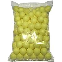 TAKASUE ピンポン玉 娯楽用 卓球ボール 収納袋付き プラスチック ボール 無地