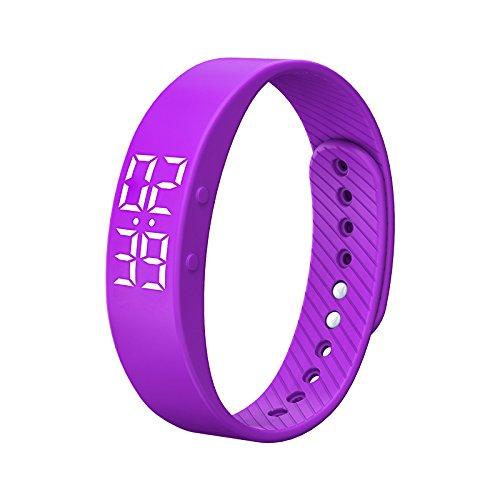 スマートブレスレット INorton スマートウォッチ 活動量計 歩数計 カロリー消費 睡眠検測 防水仕様 軽量 多機能スポーツ腕時計