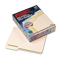 Pendaflex ® Cutless /流域ファイルフォルダー1/ 3カット、トップ、タブ、手紙、マニラ、100/ボックス