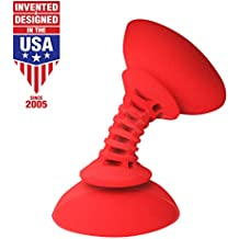 Striker Simple Sucker Flexible Smartphone Mount - Red