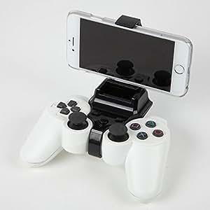 woodwave スマホでゲーム かんたん装着 PS3コントローラークリップ+オリジナルクロス セット