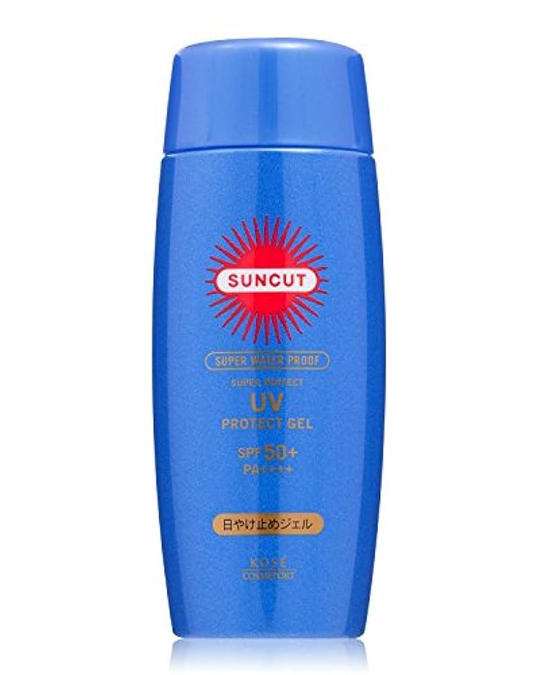 メロディアス模索分泌するKOSE コーセー サンカット 日焼け止め ジェル 50 スーパー ウォータープルーフ 80g SPF50+ PA++++