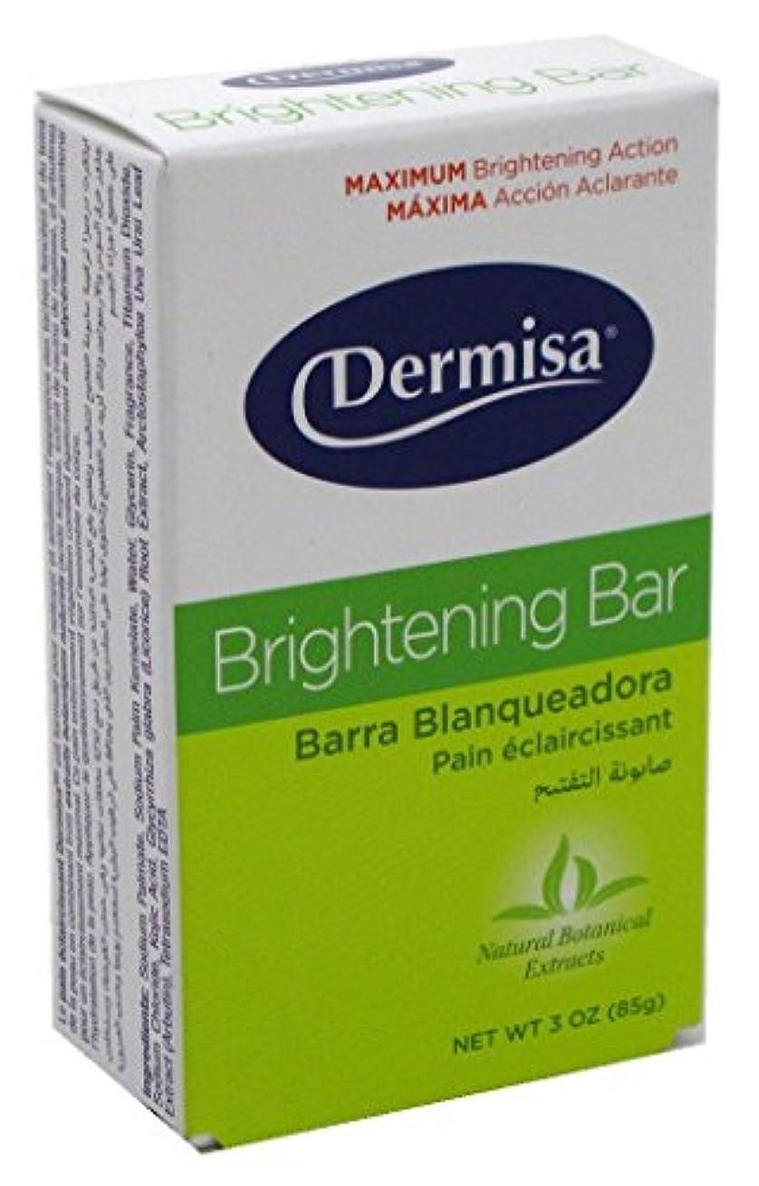 今まで偽善遺伝的Dermisa ブライトニングバー3オズ(6パック)