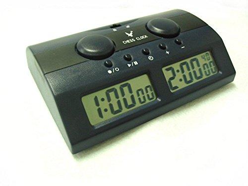 [KIKAR] デジタル対局時計 チェスクロック 将棋/囲碁/チェスに試合適用 カウントダウ タイマー プロゲーム競技に適用