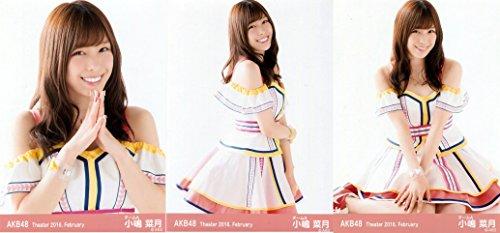 【小嶋菜月】 公式生写真 AKB48 Theater 2016.February 月別0・・・
