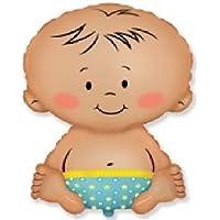 loonballoon Baby Boy形状Gender Revealおむつ27