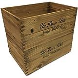 収納 木箱 アンティーク風ウッドボックス