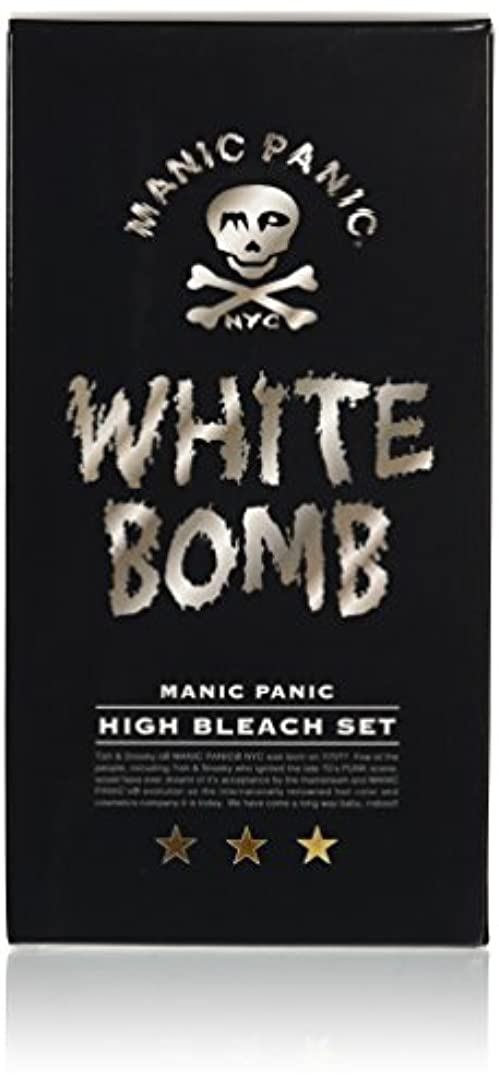 ジョットディボンドン消す女優マニックパニック ホワイトボム ハイブリーチセット (ブリーチパウダー30g+オキシ6%90ml)(医薬部外品)